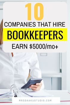 Legitimate work at home job for you that pay really HIGH. Bookkeeping is always in demand and hence an extremely profitable business! Here's how to become a bookkeeper. Online Bookkeeping, Bookkeeping Business, Bookkeeping Services, Bookkeeping Training, Earn Money From Home, Make Money Online, How To Make Money, Own Business Ideas, Accounting Jobs