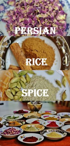 """Persian Rice Spice is """"Advieh Berenj"""" and it's a blend of 5 warm spices that adds a unique depth of flavor to Persian rice and many other dishes in this delicious cuisine!"""