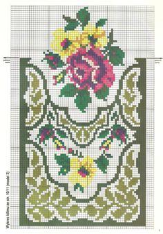 Russian Cross Stitch, Mini Cross Stitch, Cross Stitch Borders, Cross Stitch Rose, Cross Stitch Flowers, Cross Stitch Charts, Cross Stitch Designs, Cross Stitch Patterns, Folk Embroidery
