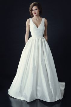 Heidi Elnora Wedding Dresses - Fall 2014 Bridal Collection with. Bling belt