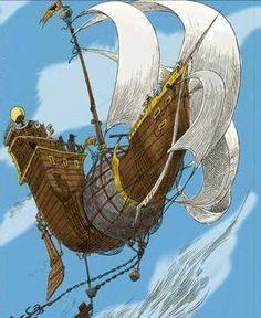 Stormchaser (sky ship) - The Edge Chronicles wiki