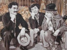 """The Marx Brothers in """"At The Circus"""" - This is a scene from the famous Marx Brothers movie """"At The Circus,"""" which isn't really considered one of their best movies, but it does contain my favorite Groucho song, """"Lydia, The Tattooed Lady."""""""