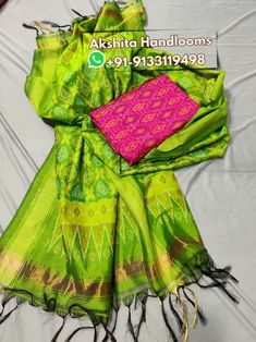 Pochampally ikkat cotton silk dress materials mtrs top with dupatta Available in stock For more details call or WhatsApp at Elegant Fashion Wear, Trendy Fashion, Pochampally Sarees, Silk Material, Cotton Silk, Suits, Silk Dress, Clothes, Tops