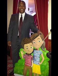 Posing with Caleb and Sophia as we enjoy the evening with the delegates at Buckhead Thester, Atlanta, GA. ... See, told you all ages love Caleb and Sophia. ♥•.¸¸.•♥   JW.org has the Bible and bible based study aids to read, watch, listen and download in 300+ (sign included) languages. They also offer free in home bible studies.  All at no charge.