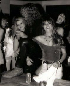 Robert Plant and groupies