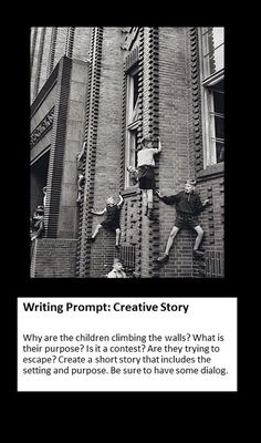 Creative story writing ideas you get better at any skill through practice, and creative writing Creative Writing Pictures, Writing Photos, Picture Writing Prompts, Picture Prompt, 6th Grade Writing, Writing Classes, Writing Lessons, Writing Curriculum, Teaching Writing