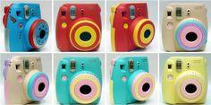 Fujifilm instax Mini 8 instant Polaroid Camera customized color