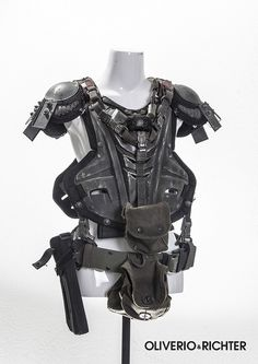 cyber armor / sci fi / military / urban dystopia / post apocalyptic inspiration / cosplay / LARP