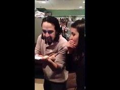 Lin-Manuel Miranda Freestyles Voicemail for Jimmy Fallon! - YouTube