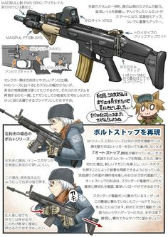 Obviously a beautiful skyline Anime Military, Military Girl, Anime Weapons, Fantasy Weapons, Military Archives, Military Drawings, Weapon Concept Art, Girls Frontline, Drawing Skills