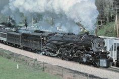 Richard Leonard's Random Steam Photo Collection -- Norfolk & Western 2-6-6-4 1218