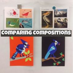 Mrs. Knight's Smartest Artists: Harper and Audubon: Bird Portraits