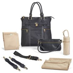 Louise Backpack Diaper Bag Bundle