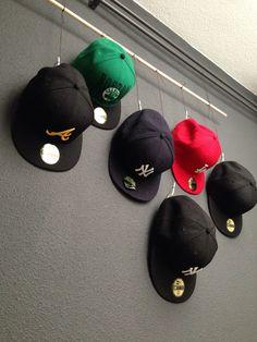 DIY hat storage
