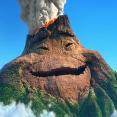 Lava is a new Pixar short. It's about a volcano that falls in love, awww! <3 It premieres before Inside Out and it is a must see!!