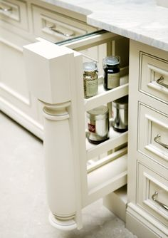 Elegant Hidden Storage Ideas For Kitchen Decor. Here are the Hidden Storage Ideas For Kitchen Decor. This article about Hidden Storage Ideas For Kitchen Decor was posted  New Kitchen, Kitchen Decor, Kitchen Design, Hidden Kitchen, Mini Kitchen, Kitchen Ideas, Spice Rack Storage, Spice Racks, Spice Drawer
