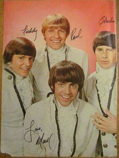 Paul Revere and the Raiders, Full Page Vintage Pinup  Had this on my wall