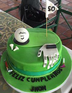 Jhon. Feliz Cumpleaños. Disfruta de tu torta y de tu torneo de golf!