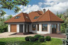 Projekt domu Mój Dom Goryczka BIS - DOM BM5-07 - gotowy projekt domu