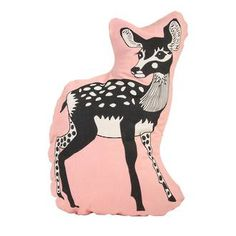 Cushion with a deer - &Klevering Silo 6 webshop