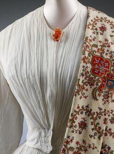 Wedding dress and petticoat | ca. 1851 (made)