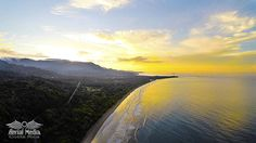 playa-hermosa-aerial-sunrise - Aerial Photography