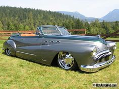 1948 Buick Roadmaster Convertible.