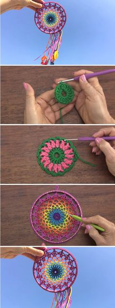 How to Crochet a Beautiful Mandala - Design Peak
