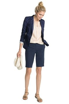 Esprit / Twill Bermuda-Shorts