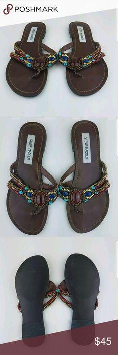 d4acf0cc0 Spotted while shopping on Poshmark  Women s Steve Madden Rhinestone Flip  Flop Sandals!  poshmark