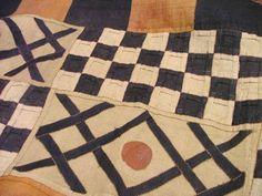 Congolese textiles raffiafiber