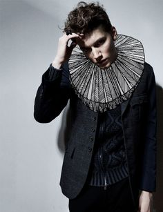 Standard Deviation - Fashion. Design. Culture. Art. Myko.: PAPERCUT Magazine - A Touch Of Dark Menswear Editorial