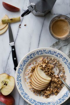 Apple-Rosemary Granola | Milly's Kitchen//
