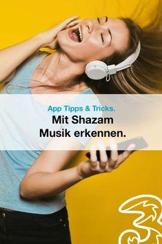 """""""Wie hieß dieses Lied nochmal?"""" – Der Satz kommt dir bekannt vor? Uns auch! Deshalb haben wir uns für dich angesehen, wie du mit der App Shazam gehörte Musik in Sekundenschnelle erkennen kannst.  Außerdem im Blog: viele weitere coole Tipps rund ums Musikhören am Handy."""
