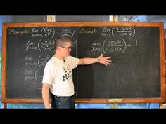 L'Hopital's Rule Lesson 8 Examples (includes small correction)