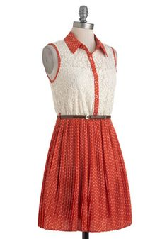 With Sugar on Top Dress, #ModCloth
