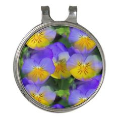Shop Pansy echos golf hat clip created by IowaShots. Stylish Hats, Golf Ball, Pansies, Floral Flowers, Markers, Collars, Monthly Subscription, Gifts, Scrapbook