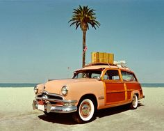Peachy-woodie, California, 1950