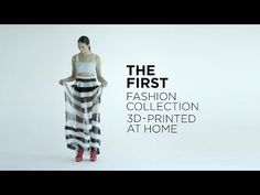 Through 3D Printing, A Fashion Collection is Born at Home - http://www.psfk.com/2015/07/student-3d-printed-fashion-collection-danit-peleg.html