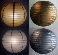 gold and silver metallic lanterns Paper Lantern Store, Paper Lantern Lights, Paper Lanterns, Winter Party Decorations, Winter Parties, Graduation Party Decor, Metallic, Party Ideas, Glamour
