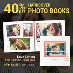 A true love story isn't just found in a fairytale. Tell your tale from beginning to now with a themed Photo Book that helps you show off the best moments yet. With the code HCBOOK40 tell yours by 17th November and get 40% off.