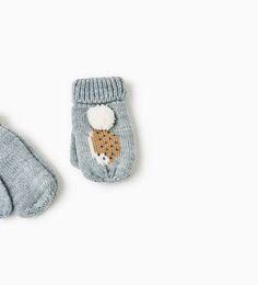 WANTEN MET EGELS-ACCESSOIRES-BABY MEISJE   3 maanden - 4 jaar-KINDEREN   ZARA Nederland