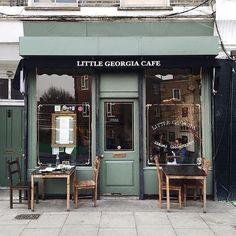 Little Georgia Cafe in East London, between Hackney City Farms & Broadway Market walking north from Hackney Road on Goldsmiths Row. The most interesting, beautiful family and woman proprietor here as well.: