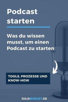 Starte deinen eigenen Podcast in nu 5 Schritten. In dieser Podcastfolge erfährst du, was du brauchst, um deinen Podcast erstellen zu können. Wir besprechen Tools, Kosten, Softwareprogramme für deinen Podcast. Podcast starten leicht gemacht. Ebenso zeige ich dir meinen Podcast-Workflow von der ersten Idee bis hin zum fertigen Podcast. Was du wissen musst, um einen Podcast zu starten. Podcast Marketing, Content Marketing.