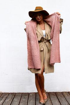 Rouge Big Scarf w Alexandra Milcarz na DaWanda.com  #niezchinzpasji