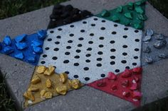 Outdoor Chinese Checkers