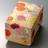 4)高盛金彩絵「菊の絵飾筥」