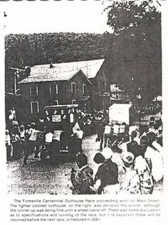 Aug 27,1981 Forksville Penna First outhouse Race in County