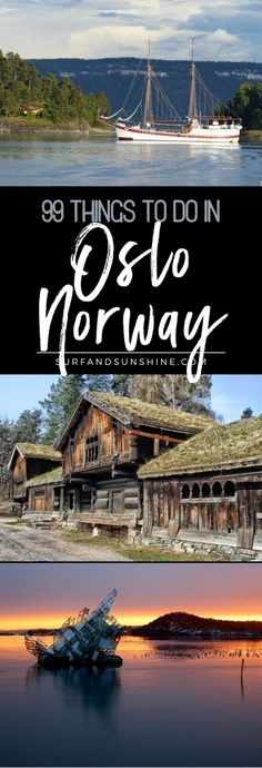 There aren't many places you can go zip-lining, view art by Edvard Munch, see ancient Viking ships, and bike the country side, all in one day, but you can in Oslo, Norway via @jeanabeena #travel