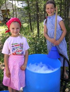off -grid laundry... forgotten way blog-- very nice - lots of info and encouragement
